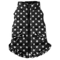 Smoochie Pooch Polka Dot Dog Bomber Jacket