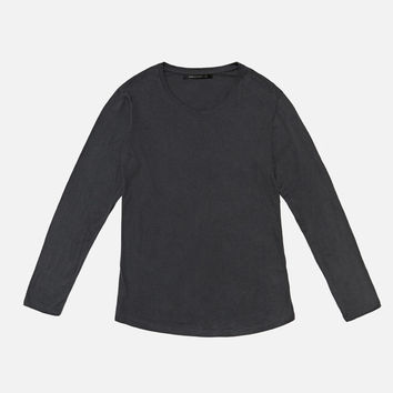 LS Curve U-Neck / Charcoal