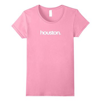 Rep City of Houston Texas TX HTown T-Shirt White Letters