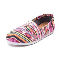 Womens TOMS Classic Tribal Slip On Casual Shoe