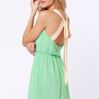 Honey Dipper Mint Green Dress