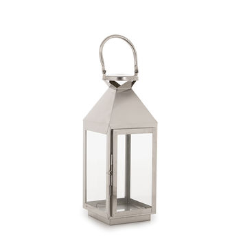 Hudson 43™ Candle & Light Collection 5X17 Lantern Metal-Nickel | JOANN