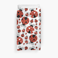Ladybugs (Ladybirds, Lady Beetles) - Red Black