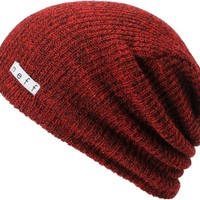 Neff Daily Heather Red & Black Beanie