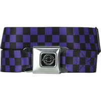 Buckle Down Chevrolet Buckle Belt Black/Purple One Size For Men 14891376501