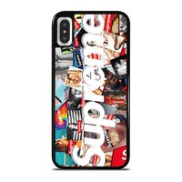 SUPREME STICKER FASHION SEXY iPhone X / XS case