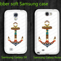 Anchor Soft Samsung Galaxy S4 case  i9500 Case unique design Samsung Galaxy note II case  note 2 case 7100 case