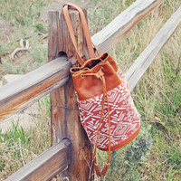 Shadow Path Tote in Tobacco
