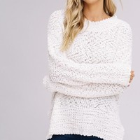 Pullover Sweater - Ivory