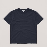 Wild Ones Pocket Tee in Navy