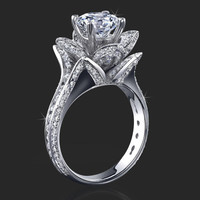 Princess Diamond Engagement Rings