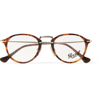 Persol - Round-Frame Acetate and Metal Optical Glasses | MR PORTER