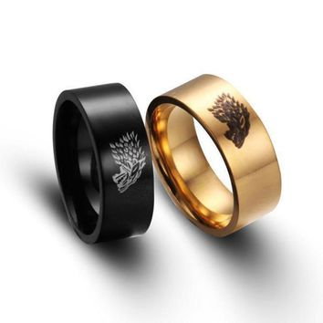 Stainless Steel Game of Throne Men Rings