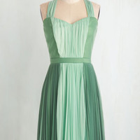 Colorblocking Mid-length A-line Refresh Your Fancy Dress by ModCloth