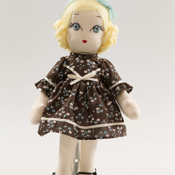 Alice - Handmade Collection Cloth Dolls by Manolitas