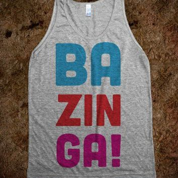 BAZINGA! - SWEET TANKS
