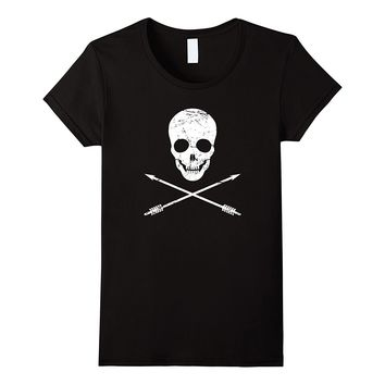 Skull And Arrows -- Archery T-Shirt