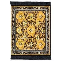 Lextra Five Medallions MouseRug, 10.25 x 7.125 Inches, Gold and Dark Navy, One (CHM-1)