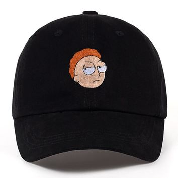 Rick and Morty Black Dad Hat
