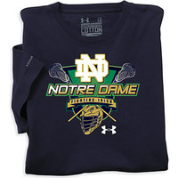 University of Notre Dame Charged Cotton LaCrosse T-Shirt | University Of Notre Dame