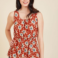 Lively Workplace Sleeveless Top