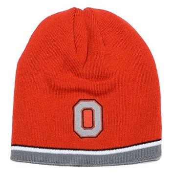 Ohio State Buckeyes Reversible Cuff Knit Hat by J. America