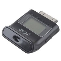 Black Ipega LCD Breath Alcohol Analyser Tester Breathalyser for iPhone 4 4S iPad iPod