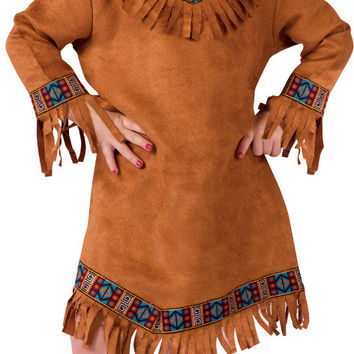 toddler girl's costume: american indian | 1t-2t