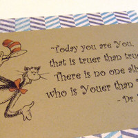 Today You Are You Dr Seuss Quote Cat In The by prettypetalspaper