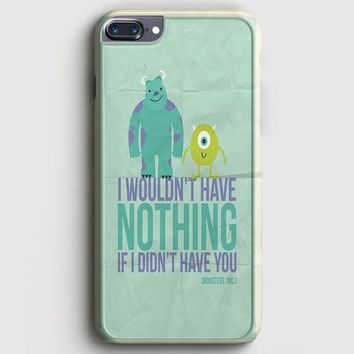 Monsters Inc iPhone 8 Plus Case | casescraft