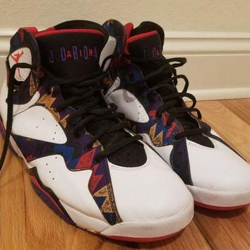 DCCK8TS Jordan 7 ugly sweater 11.5