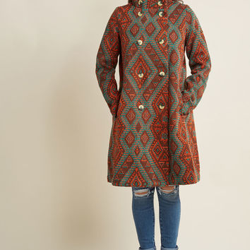 Blutsgeschwister Long-Time Looker Tapestry Coat