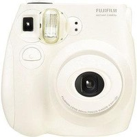 Walmart.com: Fujifilm Instax Mini 7S White Instant Film Camera, Automatic Built-in flash: Digital Cameras