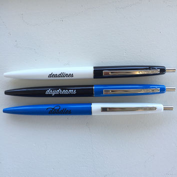 The Doodles Pen Set (Blue)