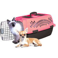 Walmart: Petmate Pet Taxi Lulu Portable Kennel, Pink, 1ct