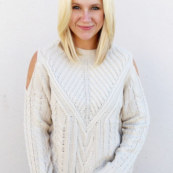 Cozy Casual Sweater {Vanilla}