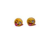 Emoji Tongue Earrings