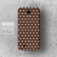 Chocolate Polka dot, 3D-sublimated,Mobile accesories, iPhone 4, iPhone 4S, Unique iPhone 5/5S case .