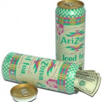 ARIZONA Drink Soda Can Diversion Safe Stash NEW!