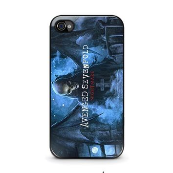 avenged sevenfold iphone 4 4s case cover  number 1
