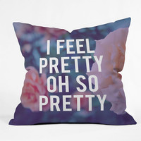 Deny Designs So Pretty Throw Pillow Multi One Size For Women 23688095701