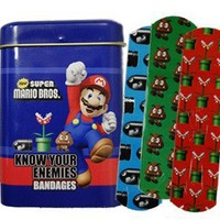 Mario Brothers Bandages