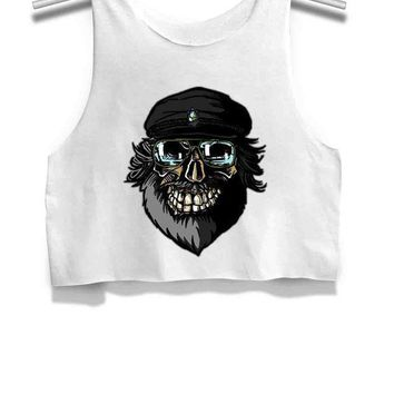 The Undertaker George Rr Martin Game Of Thrones Womens Crop Tank Top