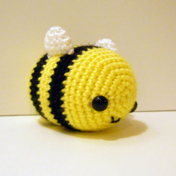 Big Bee - Made to Order - Amigurumi Crochet Plushie