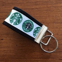 Starbucks Key FOB, Key Chain, Key Holder, KeyFob Wristlet Keychain, Accessories, house keys