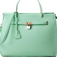 Mint Green Handbag