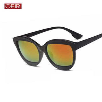 OFIR Tide Visor Sunglasses Women Retro Fashion 2018 Men Classic Black Colored Lens Outdoor Decoration Fashion Sun Glasses UV400