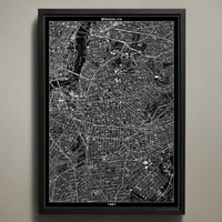 Map Print, BROOKLYN