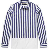 Marni - Striped Cotton-Poplin Shirt