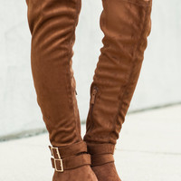 The Madison Boot, Tan